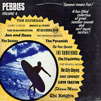PEBBLES - Vol 04 (60s SURFIN TUNES) Comp LP