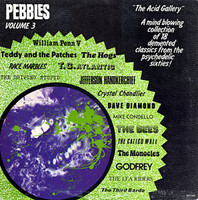 PEBBLES - Vol 03  THE ACID GALLERY (ORIGINAL 60s PUNK AND PSYCH CLASSICS )Comp LP