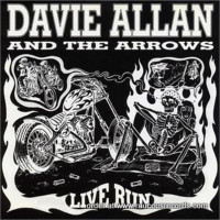 ALLAN  DAVIE  AND THE ARROWS - Live Run (lthe boss hogs of biker flick soundtracks)CD