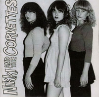 NIKKI AND THE CORVETTES -ST (Garage pop goddesses,innocent 60's inspired fun) CD