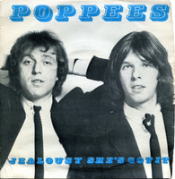 POPPEES - Jealousy/She's Got It -ORIGINAL 1978  PRESSING of early BOMP POWERPOP RELEASE ! 45 RPM