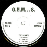 DRONES - Tempations of a White Collar Worker (orig 70s pressing  PUNK )  EP-    45 RPM