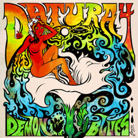 DATURA4  - Demon Blues - black vinyl -  LP