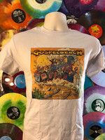 GOSPELBEACH  LP COVER  of Pacific Surf Line ART BY WILLIAM STOUT!  -  Tshirts