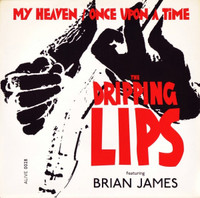 DRIPPING LIPS (Damned/ Lords of the New Church )  -My Heaven/Once Upon a Time  PIC SLV -   45 RPM