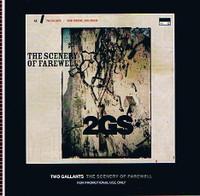 TWO GALLANTS -SCENERY OF FAREWELL- PROMO  CD