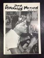 3RD GENERATION NATION   - #14 Winter 1999 PUNK!  in GERMAN   BOOKS & MAGS