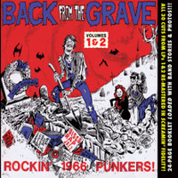 BACK FROM THE GRAVE - Vol 1 & 2 - 60s Garage Punk - COMP CD