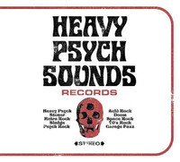 Heavy Psych Sounds Sampler  - VA VOl 1  COMP CD