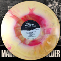 MARK PORKCHOP HOLDER - Let It Slide (Black Diamond Heavies, GREAT PUNK ROCK BLUES) LTD ED OF 150 STARBURST LP