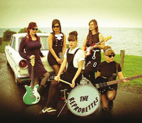 REPROBETTES  - ST - fuzzy guitars, deadly 60's surf rhythms and screaming vocals  CD