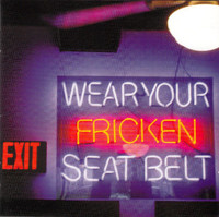 HOLY CURSE  - Wear your Fricken Seat Belt- French hard rock SRB style -DBL CD