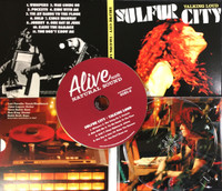 SULFUR CITY  - Talking Loud - GREAT FEMALE FRONTED BLUES!  PROMO CD