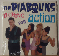 "DIABOLIKS  -ITCHING FOR ACTION  (GARAGE ROCK) 10""  LP"