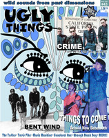 UGLY THINGS  - #43-  WINTER 2016: CRIME / BENT WIND / THINGS TO COME-  BOOKS & MAGS
