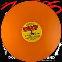 ZEROS   - Don't Push Me Around LAST COPIES! -LTD ED  of 100  ORANGE VINYL w orig. insert!