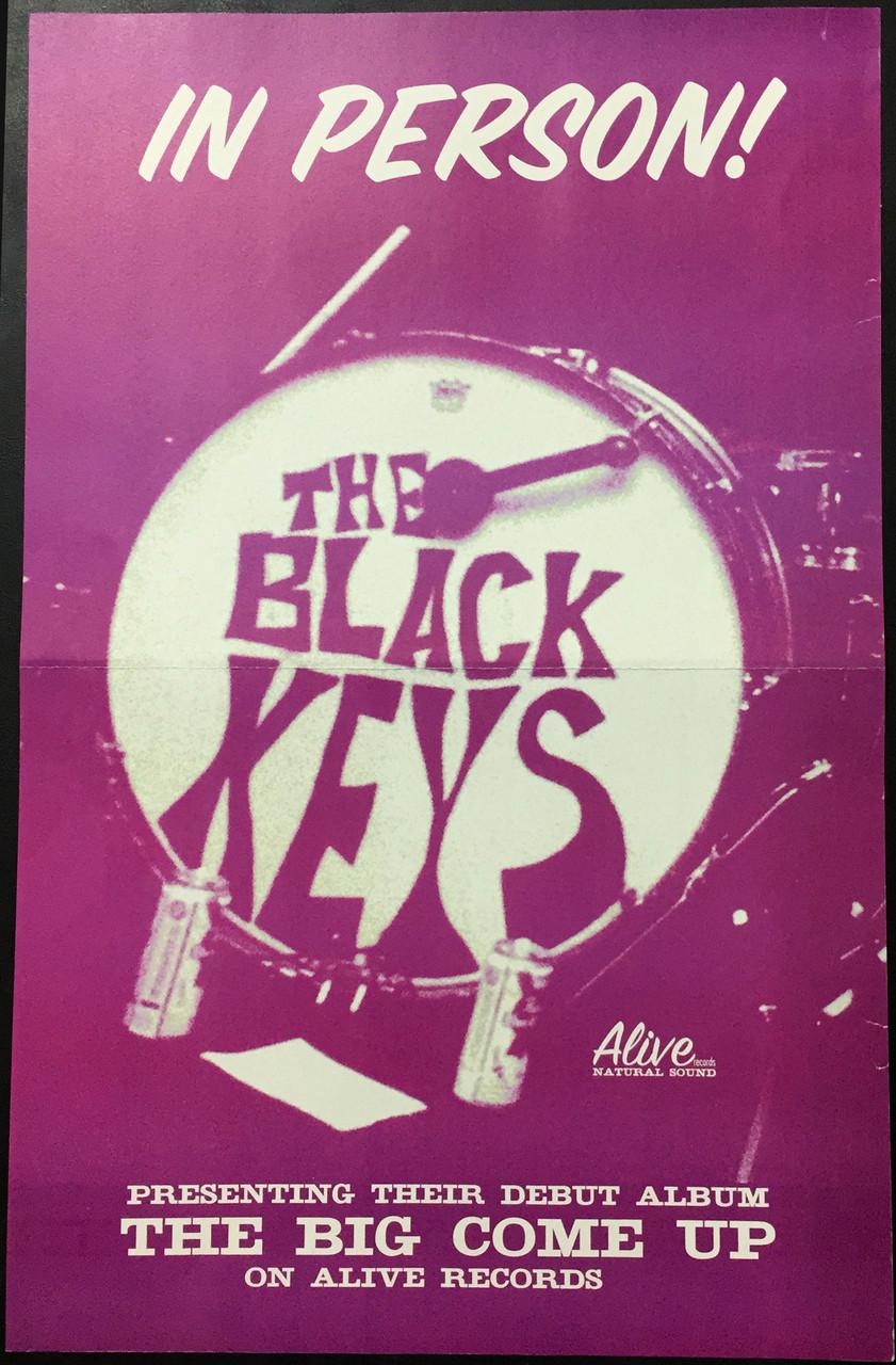 Black Keys The Big Come Up 2011 Pressing Rare Fuschia
