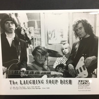 LAUGHING SOUP DISH  - ORIGINAL GLOSSY PROMO PHOTO  80'S