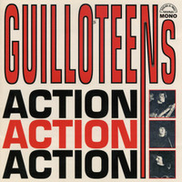 GUILLOTEENS  - ACTION! ACTION! ACTION! Deluxe DBL CD  w booklet,bios and photos  -  CD