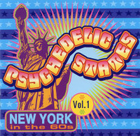 PSYCHEDELIC STATES  - NEW YORK  In The 60's VOL 1-  COMP CD