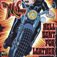 MILAN -HELL BENT FOR LEATHER (60s GARAGE LEGEND of PEBBLES SERIES FAME) LAST COPIES LP