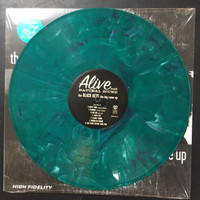 BLACK KEYS   - Big Come Up - RARE 2012 TURQUOISE /GREEN MARBLE  PRESSING   LP