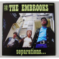 EMBROOKS   - Separations (60S INSPIRED FREAKBEAT)  CD