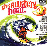 CALVIN COOL & the SURF KNOBS- The Surfer's Beat (rare surf and drag album from 1963)- CD