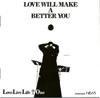 LOVE LIVE LIFE + 1  - Love Will Make A Better You (Japanese psych)CD