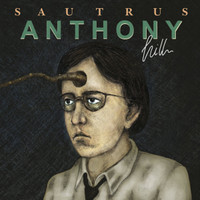 SAUTRUS  - ANTHONY HILL ( 60s inspired acid psych )gold/clear/black marbled LP