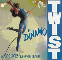 ALVARO LOPEZ  y Sus Grandes Del Twist  - DINAMO TWIST - 1962  2 ONLY !-MINI LP SLV    CD