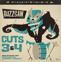 BUZZSAW JOINT - Cut 3 + 4( rare, weird, and wonderful original  45s)COMP CD