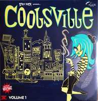 "COOLSVILLE  -VOL 1(Bongo-laden beats from the 50s and 60s) 10"" COMP LP"