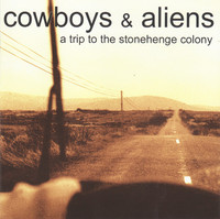 COWBOYS & ALIENS  -A TRIP TO THE STONEHENGE COLONY(STONER ROCK)CLEAR VINYL LP