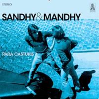 SANDHY & MANDHY -Para Castukis  (Rare 70s psych) 60s style gatefold jacket w insert  LP