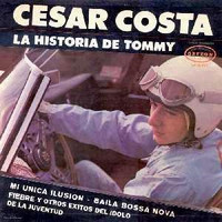 COSTA, CESAR -LA Historia De Tommy (1963 Mexican oddity)ONE ONLY!  CD