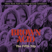 BROWN ACID  - THE FIFTH  TRIP (60S PSYCH RARITIES) RED VINYL COMP LP