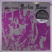MERKIN -Music from Merkin Manor  (70s rare fuzzed out West Coast psych) insert with liner-notes IMPORT  LP