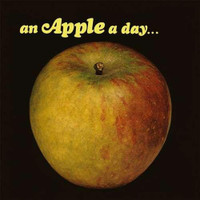 APPLE - An Apple a Day (Super-rare UK '60s garage-pop psychedelic!  w liners and 2 inserts) LP