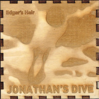 EDGAR'S HAIR  -JONATHAN'S DIVE(TRIPPY KRAUTROCK) Wooden box DOUBLE CD
