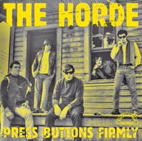HORDE -Press Button Firmly ( 1967 rare garage )w 4 bonus tracks -  CD