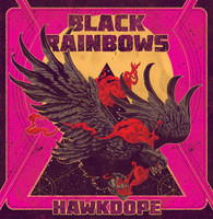 BLACK RAINBOWS -HAWKDOPE ( 70s style psych-fuzz trio)CD