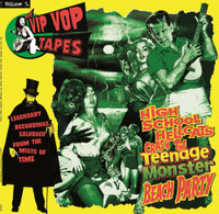 VIP VOP TAPES   Vol 3 (legendary compilations put together by Lux Interior himself) GREEN VINYL  COMP LP