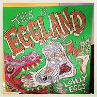 LOVELY EGGS   - This is Eggland (kraut-influenced psych punks)  CD