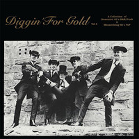 DIGGIN' FOR GOLD VOL 2 (rare and obscure 45s) GOLD VINYL RSD DAY  COMPLP