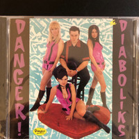 DIABOLIKS  - DANGER (UK GIRL GARAGE) CD