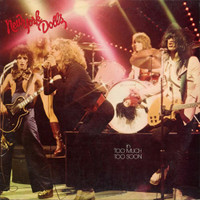 NEW YORK DOLLS   - Too Much Too Soon   CLASSIC GLAM PUNK RED VINYL   LP