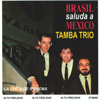 TAMBA TRIO   - Brasil Saluda A Mexico (1966) ONE ONLY!  RARE MEXICAN   mini LP SLV  CD