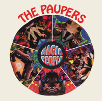 PAUPERS - Magic People ( 60s Byrds style)CD