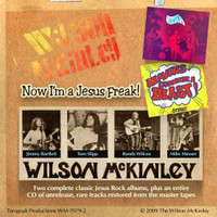 MCKINLEY, WILSON  -Now I'm a Jesus Freak (Pacific Northwest Psych )DBL CD